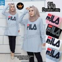 Baju Atasan Wanita Muslim Blouse Fila Premium Tunik Lava