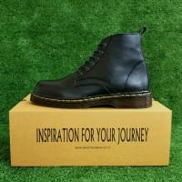 Sepatu Kulit boot pria no safety like dr marten boots docmart Original