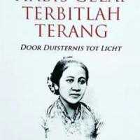 Buku Habis Gelap Terbitlah Terang - R. A. Kartini