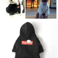 Baju Anjing Supreme / Hoodie Anjing / Baju Kucing / Hoodie Supreme
