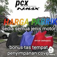 cover nmax new pcx ninja cbr vario scoopy beat r15 klx vespa sport