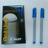 Pilot ball liner