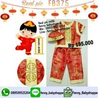 Cheongsham anak FB375 baju imlek
