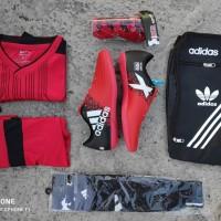 paket super murah sepatu futsal adidas x