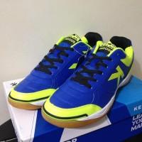 TERBARU - SEPATU FUTSAL KELME K-STRONG ROYAL BLUE LIME 55787 ORIGINAL