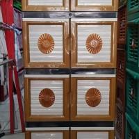 terlaris Laci / Lemari Plastik Lemari Pakaian 8 pintu naiba batik