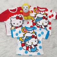 Terlaris !!! Paket Kaos Karakter Anak Murah Size Xl Hello Kitty/Baju
