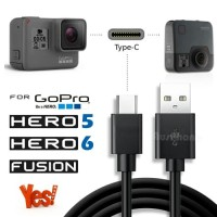 Kabel USB Data GoPro Hero 5, 6, 7, Session, Fusion - 1M