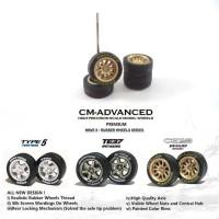 Ban Karet CM ADVANCED CE28 Dunlop Direzza - Diecast 1:64 Wheels