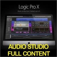 Logic Pro X - Include Full Audio Content (USB Flashdisk)