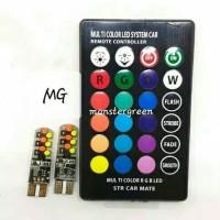 Sein Senja T10 Remot RGB LED 16 warna / Lampu Senja T10 Remot T 10 Sen