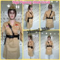 Baju Pejuang anak wanita / baju veteran / baju bungtomo anak