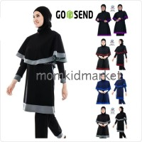 Baju Renang Muslimah Muslim Wanita Dewasa Syari Edora EMP