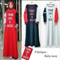 Baju Muslim Gamus Think Maxi Dress