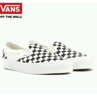 Sepatu Vans OG Slip On Classic Black Checkerboard - Slip on Checker