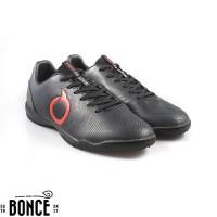 Sepatu Futsal OrtusEight Catalyst Oracle IN Black Ortred Original