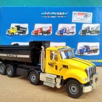 US Style Truck KDW Diecast miniatur Dump truk bahan besi harga murah