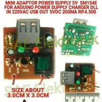 SM154E MINI ADAPTOR 5V POWER SUPPLY 5V FOR CHARGER ARDUINO DRIVER DLL