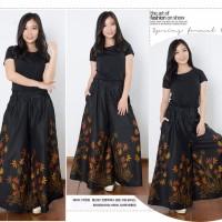 SB Collection Celana Panjang Gracie Longpants Kulot Jumbo Batik Wanita