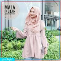 jilbab instan / hijab instan pashmina MALLA murah hana najwa terbaru