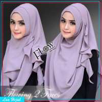 jilbab instan / hijab instan pashmina POPPY murah hana najwa terbaru