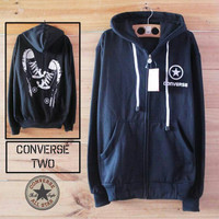 Jaket converse one stars with all pria