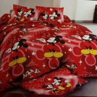 Sprei Louvre Mickey Mouse uk 120