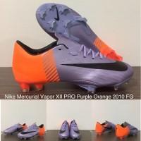 Sepatu Bola Nike Mercurial Vapor XII PRO Purple Orange 2010