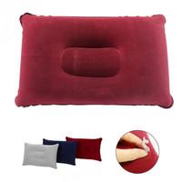 HSI Bantal Travel Pillow Tiup Angin Udara Pompa Kecil Ringan Portable