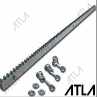 Rel Besi 1 Meter Autogate Pintu Pagar Dorong Sliding Steel Gear