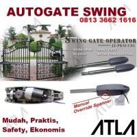 Mesin Pembuka Pintu Pagar Kupu Otomatis Autogate Auto Door Swing Gate