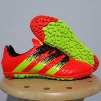 Sepatu futsal / putsal / footsal Adidas Ace 2016 Orange TF / Gerigi Re