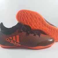 Sepatu futsal / putsal / footsal Adidas X Tango 17.3 Black Red IC Repl