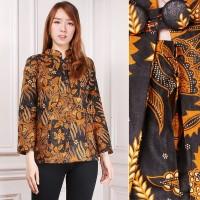 SALE Atasan Blouse Nyasia Kemeja Lengan Panjang Batik Wanita