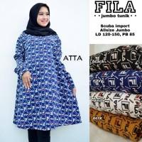 baju wanita blouse tunik fila jumbo muslim modis lucu unik