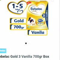 Bebelac Gold 3 box 700 gram . Bebelac Gold 3 700gr . Expired Masih Lam