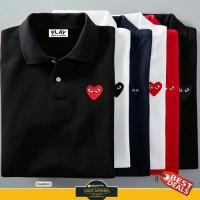 Polo shirt / kaos kerah Play Cdg #bestseller