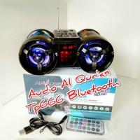Speaker Audio Al Quran Advance Tp 666 Bt bluetooth audi hafalan 30 juz