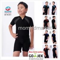 Baju Renang Anak SD Cowok Cewek Diving Polos DV-TG