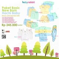 Paket Baju Bayi New Born Hachi Basic / Pakaian untuk Bayi Baru Lahir