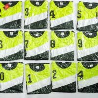 Baju Kaos Tim 12 Pasang Futsal Voli Sepak Bola