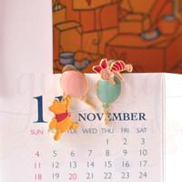 Anting Stud Panjang Pooh and Piglet with Balloon Lucu Unik GH 203539