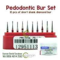 Bur Pedo Mata Bur Pedodontic Kiddies Anak Kit Diamond Bur Set 10pcs