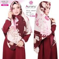 Aurany Jilbab Motif / AJM 31/ Jilbab Segi Empat