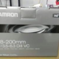 Lensa Tamron 18-200 vc for canon/nikon