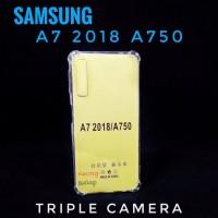 Soft Case Anticrack Samsung A7 2018 A750 Anti Crack Casing Silikon
