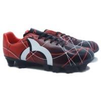 100% ORIGINAL - Sepatu Bola Ortuseight Ventura FG (Red/Black/White)