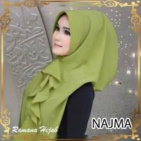 jilbab instan murah khimar hana najwa syari terbaru NAJMA