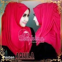 jilbab instan murah khimar hana najwa syari terbaru AQUILA