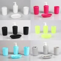 Bathroom Set - Tempat Sabun Set Dan Tempat Sikat Gigi R08 - Babamu